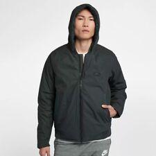 BNWT Medium Nike NSW Down Fill Outdoor Green/Black Bomber Jacket 866022-332