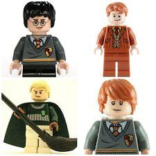 Harry Potter Hermione Ron Dumbledore Voldermort  Mini Figures fit + lego Toys