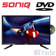 """SONIQ 24"""" Inch HD LED LCD TV with Built-In DVD Combo - 12V Caravan Compatible"""