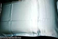 100%SILK-PILLOW CASEx1*Care-For Your Hair+Skin*Rejuvenate-*Gently Misty Blue*BR