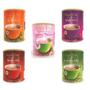 Royal Chai Elaichi Masala Karak Pink Kashmiri Ginger INSTANT TEA POWDER 400g
