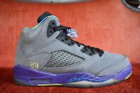 Nike Air Jordan 5 Retro GS Bel Air V CDP Bred Youth 621959-090 Bred Size 6 Y