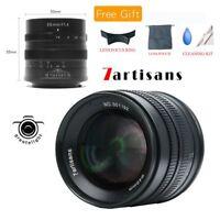 7artisans 55mm F1.4 Manual Focus Lens For Sony Canon Fujifilm Panasonic Olympus