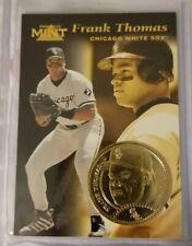 1997 Pinnacle Mint - FRANK THOMAS - Gold Plate Coin - WHITE SOX