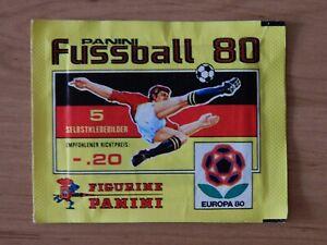 Panini Fußball 80    Tüte  OVP