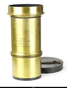 Lens Brass Hermagis Aplanetique 10/1200 mm
