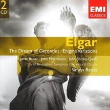 Edward Elgar : Dream of Gerontius, Enigma Variations (Rattle) CD 2 discs (2007)