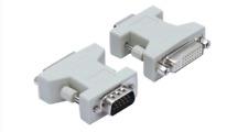Lot of (19) VGA Male to DVI-D Female Converter Adapter