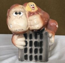 1976 MyLo Vintage King Kong Ceramic Statue Planter Read