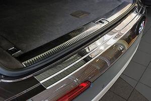 Edelstahl Ladekantenschutz Abkantung Selbstklebend Auto für Audi RS6 III 13-18