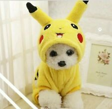 Pet Winter Cartoon Cosplay Clothes Autumn Winter Pajamas Puppy Hoodie Dog Coat
