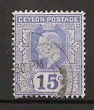 Pre-Decimal Used Single Ceylon Stamps (pre-1948)