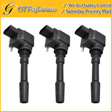 OEM Quality Ignition Coil 3PCS for 15-17 Porsche Cayenne Macan Panamera 3.0/3.6L
