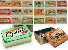 Vintage/Retro Rectangular Decorative Tins