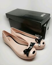 NIB Women's Size 8 Pink Melissa PVC Ultragirl Sweet Hidden Wedge Flats