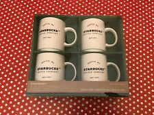 starbucks coffee mugs (4 pack 14 oz 404ml free uk postage