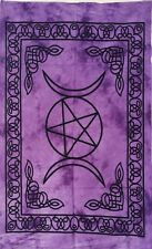 Star &moon Purple Color Wonderful Design Wall Hanging Small Tapestry Poster Art