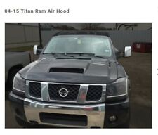 Ram Air Hood For Nissan Titan 2004-2015 Fully Functional By RK Sport 54012000