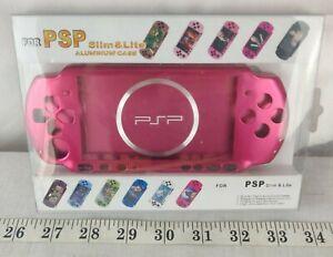 Case Aluminium pink /  Slim & lite Aluminum Case for Psp 2000/3000