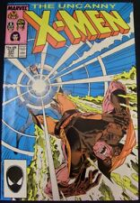 UNCANNY X-MEN 221 MARVEL COMIC 1ST MISTER SINISTER CLAREMONT SILVESTRI 1987 NM