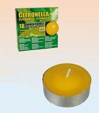4 x 18 Pack = 72 Citronnelle Huile essentielle de citron BOUGIES CHAUFFE-PLAT