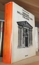 Cesare Brandi Disegno dell'Architettura italiana Einaudi 1985