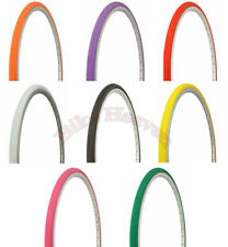 """NEW! Duro Bicycle 27"""" x 1 1/4""""  Bicycle Tire Road City Fixie Touring Bike Colors"""