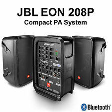 JBL EON208P Active 300w Bluetooth Compact DJ Suitcase PA System