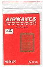 Airwaves Accessories 1:72 SN GRU-7 Ejector Seat Harness AC7208