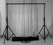 2x2m Fotografie Hintergrund Lichtgestell Aluminium Unterstützung Studio Set