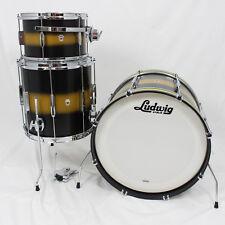 """Ludwig L6103LXU2 Club Date """"Vintage"""" Series 3-piece Drum Set"""