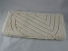 ANTIQUE PEARL COVERED PURSE