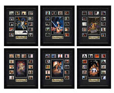 Star Wars: The Complete Saga 6 x Filmcell Set, holographic serial numbered