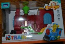 moving train music light toy