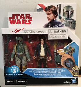 Hasbro Star Wars Han Solo & Boba Fett 2-Pack Action Figure