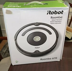 New iRobot Roomba 670 Robot Vacuum-Wi-Fi Connectivity, Works with Google Home!