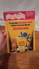 Vintage Crayola Crayons by Binney & Smith Co. Kinder Art Color Learn Book NOS