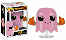 NEW OFFICIAL FUNKO POP GAMES PAC-MAN PINKY #85 VINYL FIGURE