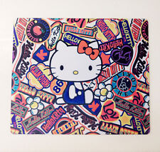 New Design Cute Hello Kitty Laptop Computer Mouse Pad Mat Pink