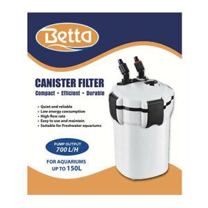 Betta Canister Filter External Aquarium Filtration 700 1050 1620 2000 Regular