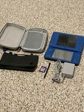 Nintendo DSI XL Midnight Blue Handheld! W/ Charger, Stylus, And Other Extras