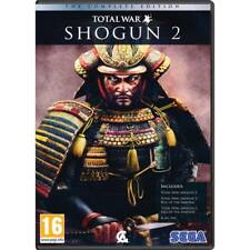 PC Game Total War Shogun 2 II + Fall & Rise of the Samurai Complete Edition NEW
