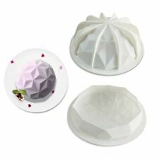 Silicone 3D Large Dome Shape Cake Mould Geometric Baking Mould Chocolate Tool