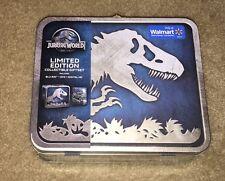 Jurassic World Limited Edition Collectible Lunch Box Blu-Ray+DVD+Digital HD NIB