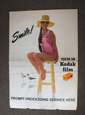 KODAK SIGN A6-129 FOR FILM AND PROCESSING, ABOUT 37.5 INCHES TALL/cks/211992