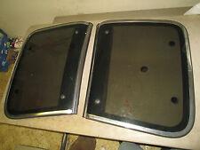 84 85 86 87 88 NISSAN 300ZX T-TOPS / ROOF GLASS / LEFT & RIGHT / WIND DEFLECTORS