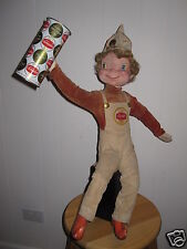 VINTAGE 1964 SCHAEFER CENTER BEER ADVERTISING DISPLAY DOLL CAN NY WORLDS FAIR?