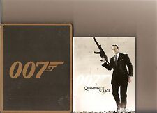 QUANTUM OF SOLACE JAMES BOND 007 LIMITED STEELBOOK PLAYSTATION 3 PS 3