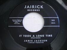 Jamie Jackson It Took a Long Time / Cute Little Ways 1961 45rpm VG++