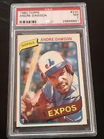 1980 Topps Andre Dawson #235 PSA 7